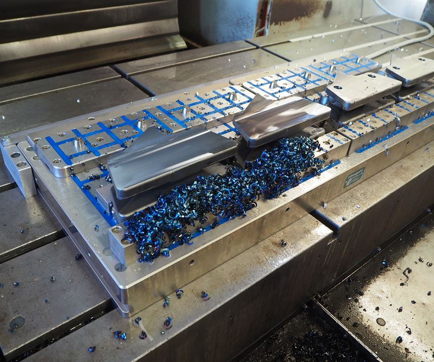 Precision cast alloy, pre-hard steel chain links