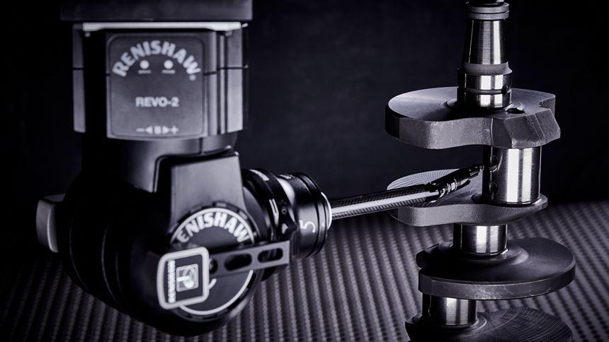 Surface finish measurement probe