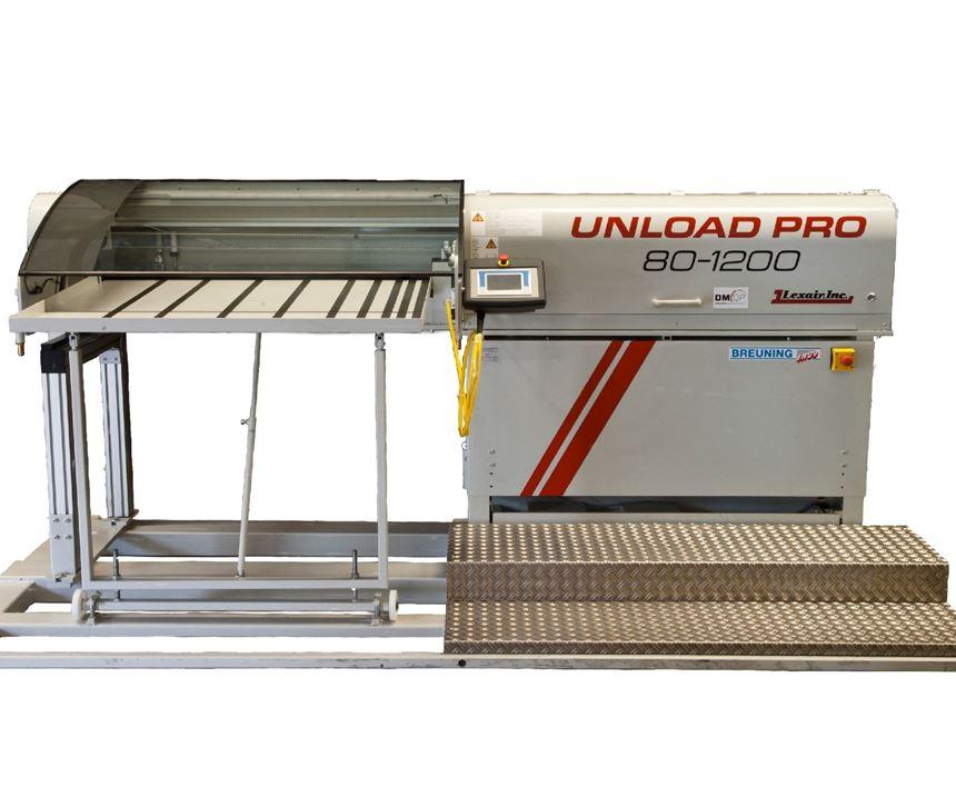 Parts unloader