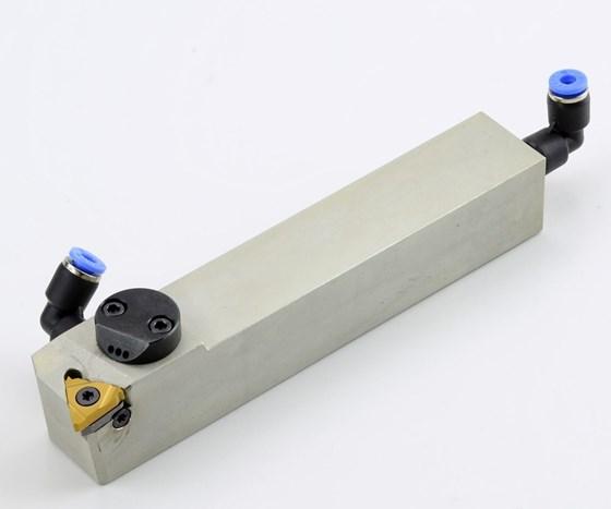 External thread turning toolholder