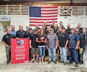Haas shop employees