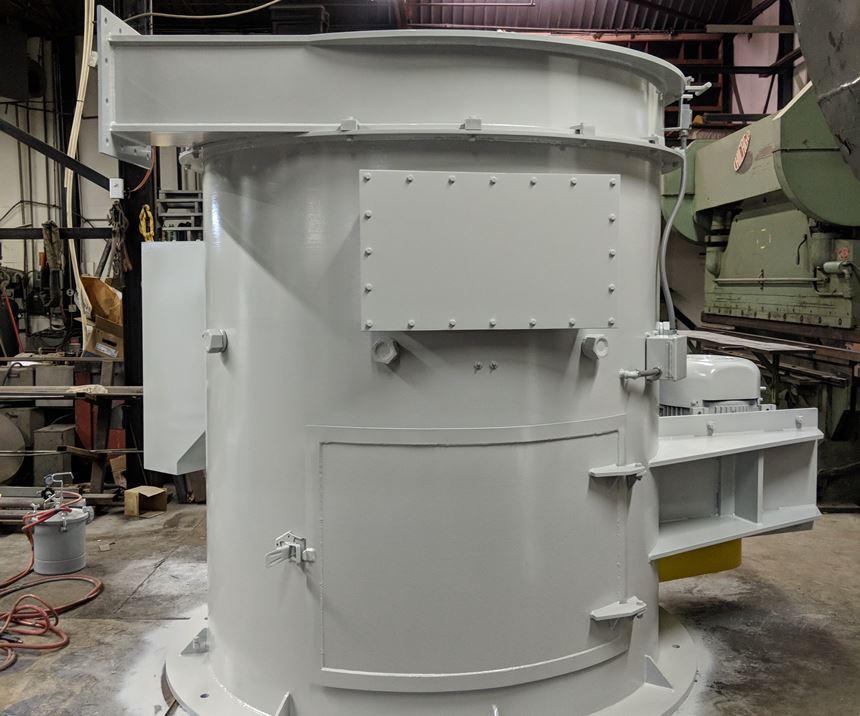 50-inch screen diameter machine