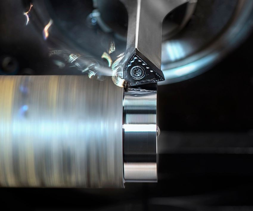 High Dynamic Turning by Ceratizit steel shaft