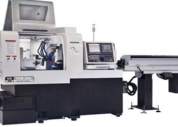Swiss-type machine