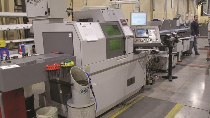 Citizen L220 Type 8 laser Swiss machine
