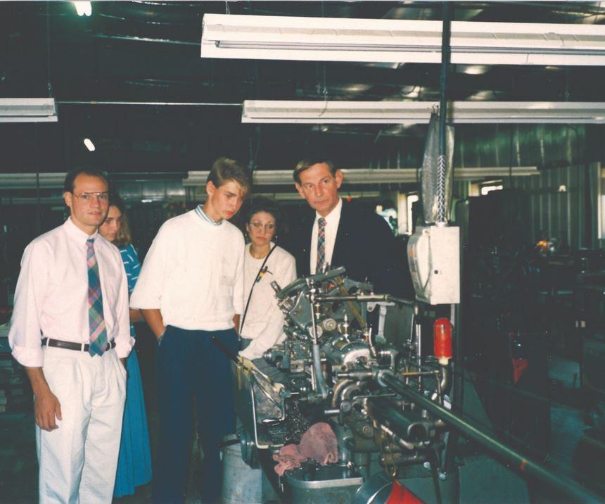 Precision Plus family in 1988