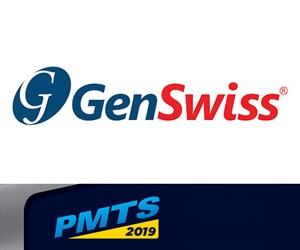 GenSwiss and PMTS 2019 logos