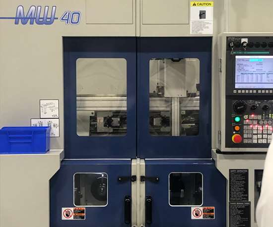 MW40 twin-spindle turning center