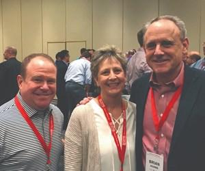 Harry Eighmy, Renee Merker and Brian Adams