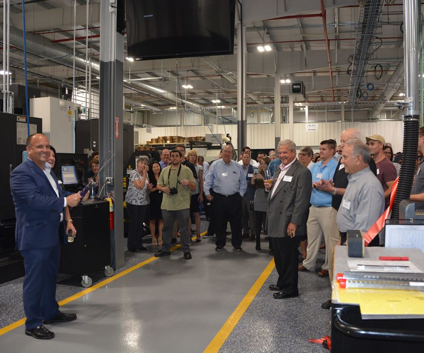 crowd at event on the shop floor