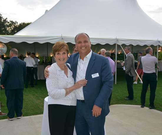 Eric Hagopian with his mother