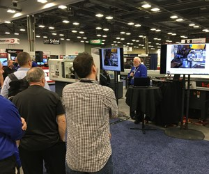 Showfloor demo at PMTS 2017
