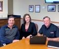 Mike Molnar, Andrea Coghlin and Gordon Baker