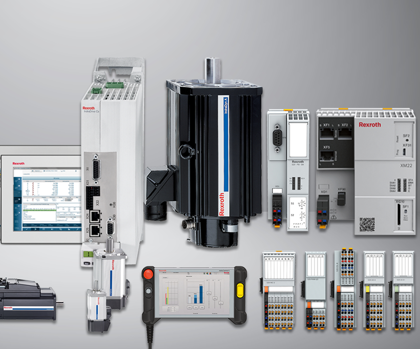 Bosch Rexroth industrial drive products