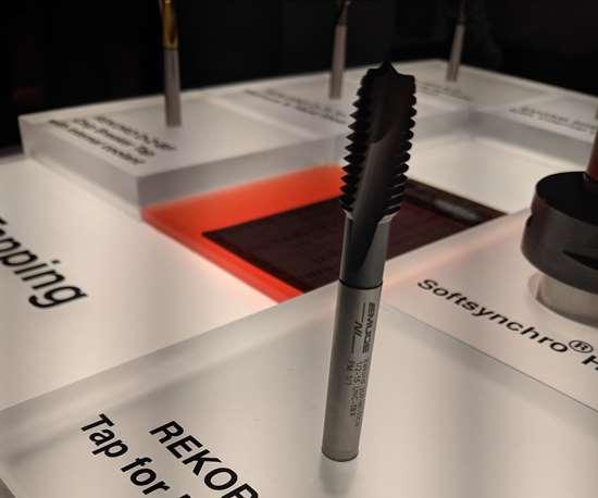 Emuge's Rekord DF-NI tap designed for nickel alloys