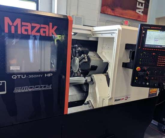 Mazak QTU-350MY HP lathe