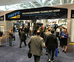 Entrance to the PMTS 2019 show floor