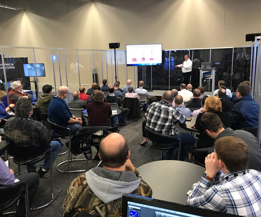 A presentation in the PMTS Tech Talk Theater