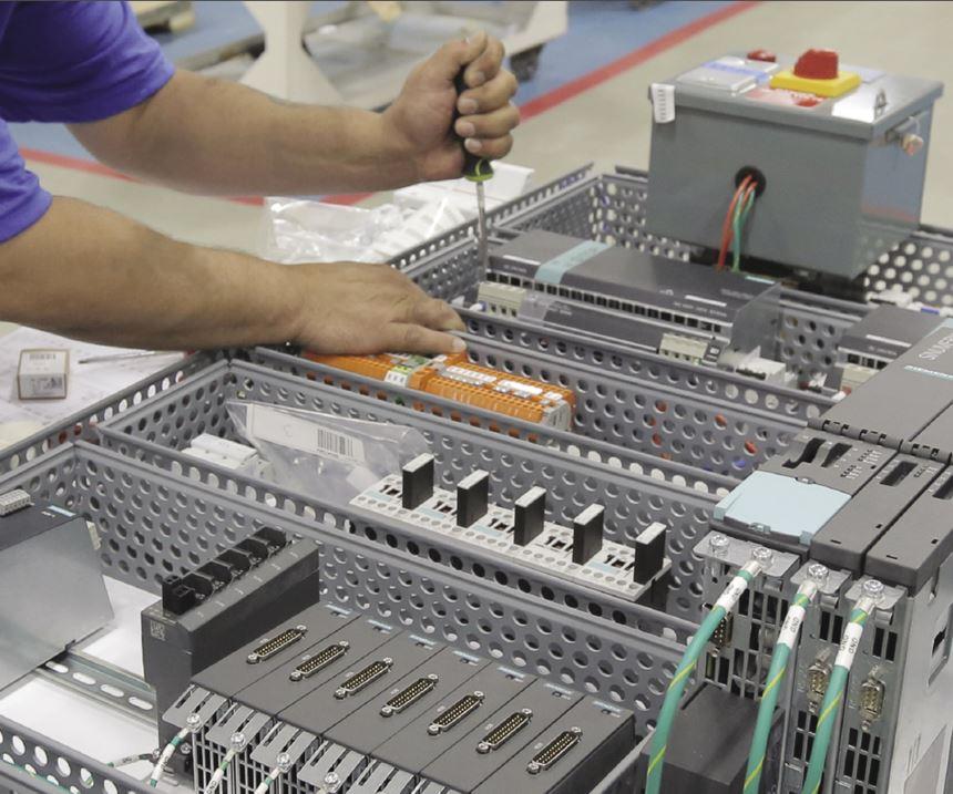 Assembling control panel