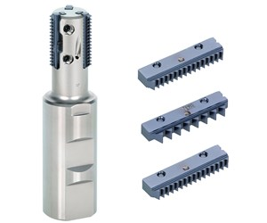 Tungaloy's ETTL Insert Improves Efficiency for Parallel Thread Milling