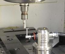 touch probe in a machine