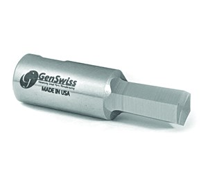 GenSwiss's Signature Series broach tools