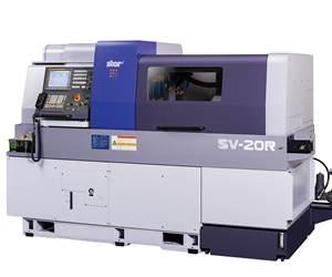 Star CNC Machine Tool Corp.'s SV-20R Swiss-type lathe