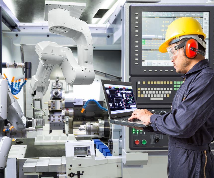 operator programming robot