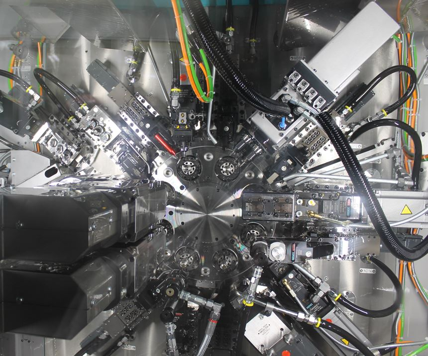 inside the multi-spindle