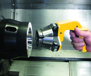 Quick-Grip collet chuck with installation tool