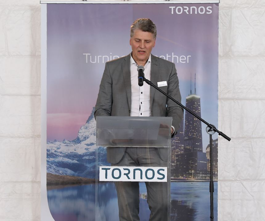 Tornos CEO Michael Hauser