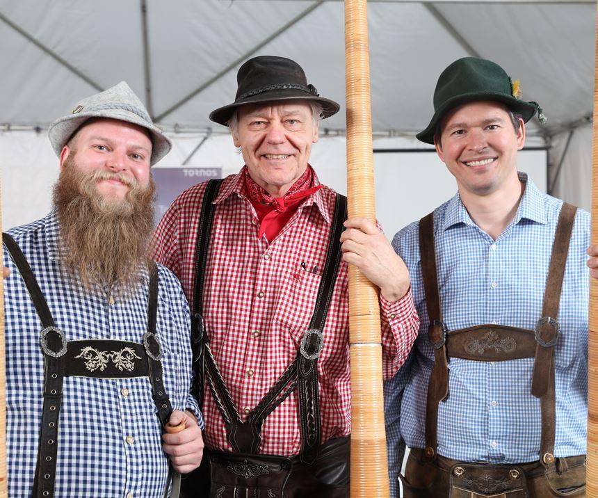 Swiss Alphorn Players