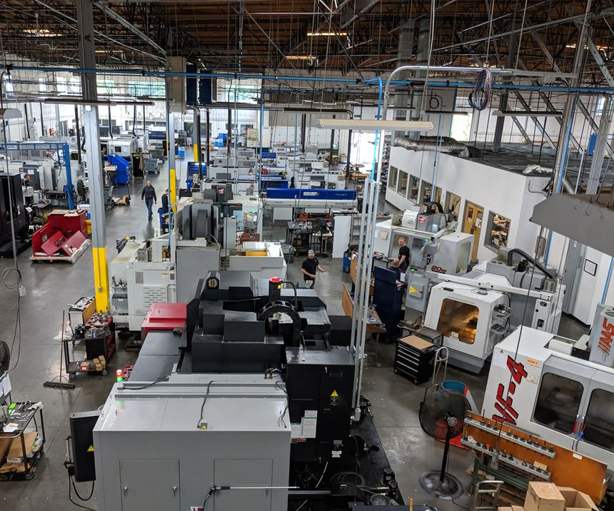 Automatic Products' milling area