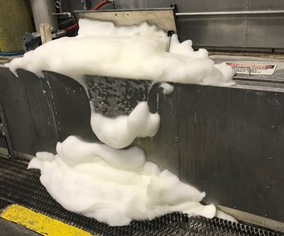 foaming parts washer