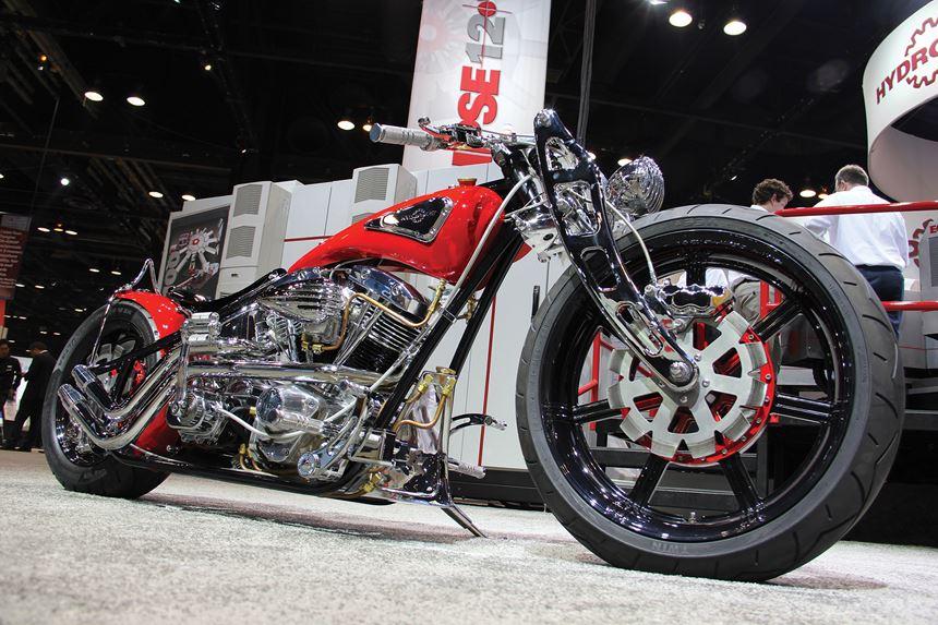 Hydromat's 40th anniversary bike