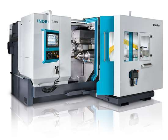 iXcenter with C series turning machine