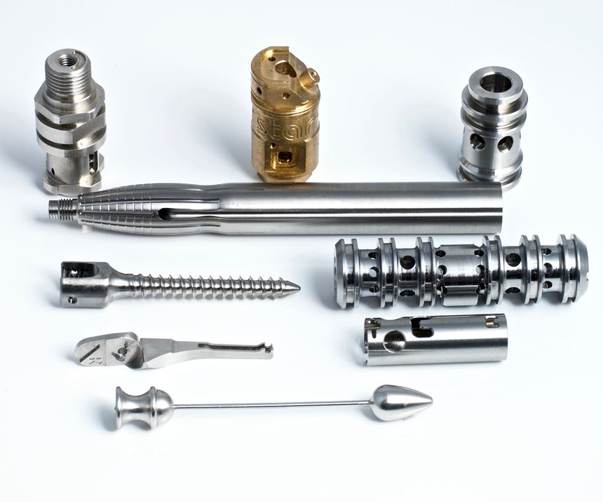 samples of turned parts