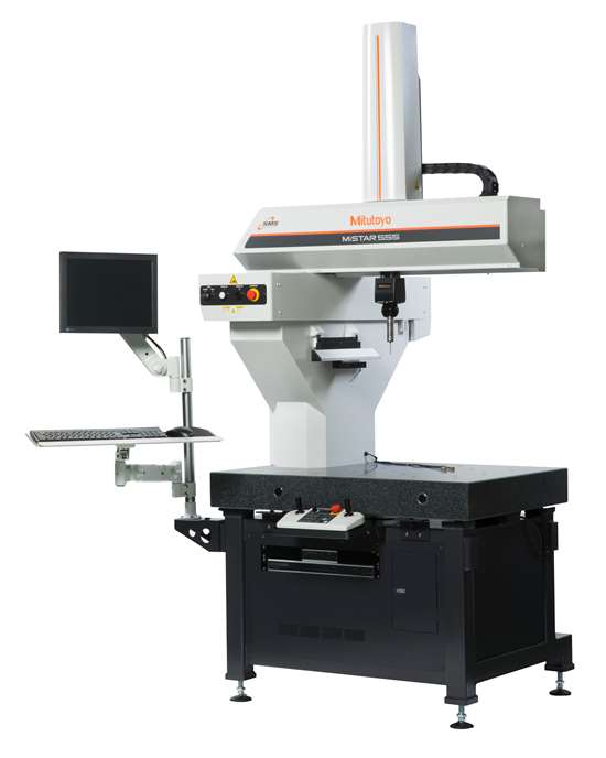 Mitutoyo America Corp.'sMiStar 555 CNC shopfloor coordinate measuring machine