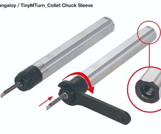 TinyTurn Collet Chuck Sleeve