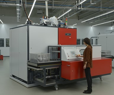 Pero-TWT automatic immersion cleaning system