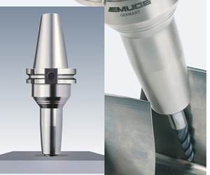Emuge's Slim Line Chucks Bring Versatility to 5-Axis Milling