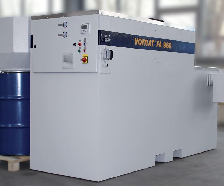 Vomat FA 960 filtration unit