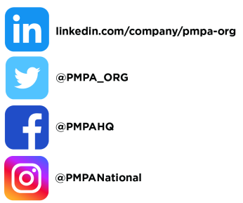 where to find PMPA on social media