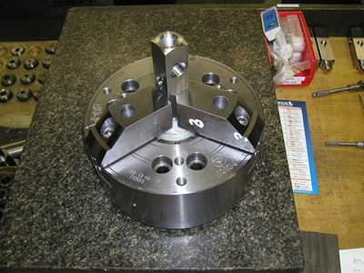 three-jaw chuck