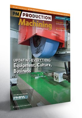 cover of Production machining magazine, May 2020 issue