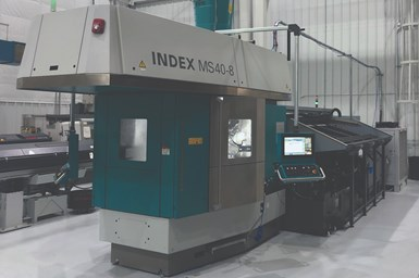Since opening in 1996, MetalQuest has focused on adopting multitasking machine tool technology. Its latest addition is this eight-spindle multi that currently runs a family of five parts.