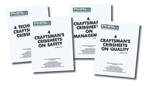 PMPA Launches Best of Craftsman Cribsheet Series