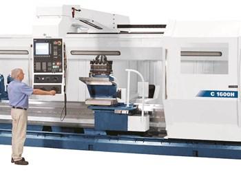 Romi Heavy-Duty CNC Lathes Feature Monoblock Beds