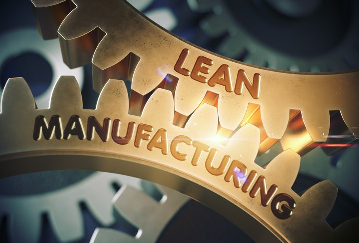 gears with Lean Manufacturing written on them