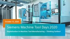 Siemens Event Focuses on Benefits of Machine Tool Digitalization